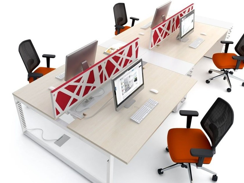 Workstation screen desktop partition ZIG-ZAG - MDD