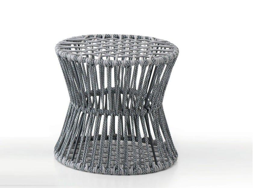 Contemporary style iron garden pouf ZIGGY - CLESSIDRA | Pouf - Saba Italia