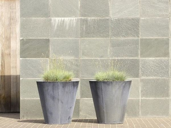 Zinc Flower pot ZINC ROUND CONICAL - Domani