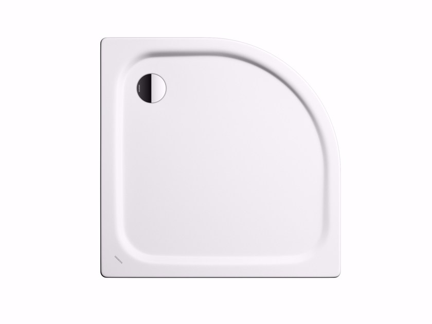 Built-in corner shower tray ZIRKON - Kaldewei Italia