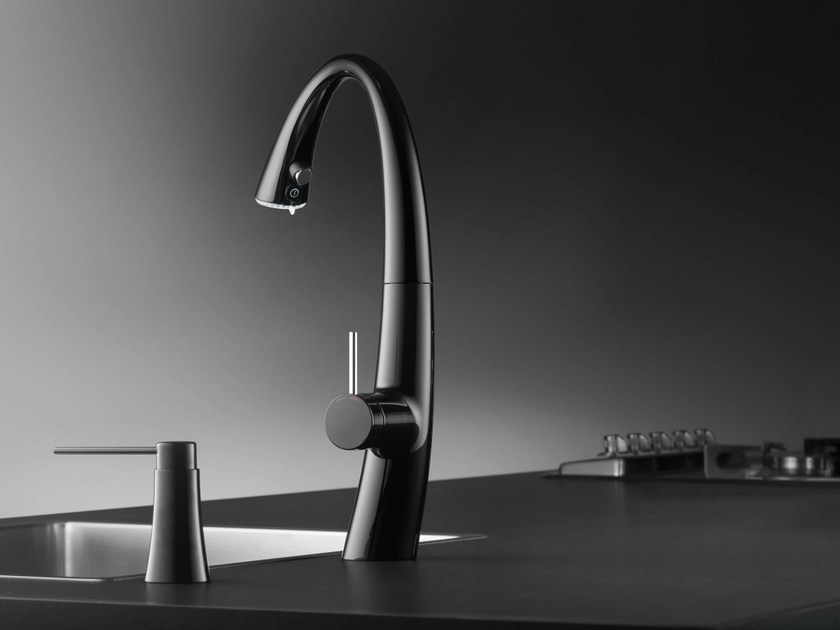 Chrome-plated countertop kitchen mixer tap KWC ZOE | Kitchen mixer tap - Franke Water Systems AG, KWC