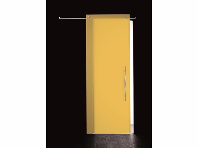 Stained glass sliding door COLOR ZOLFO - Casali