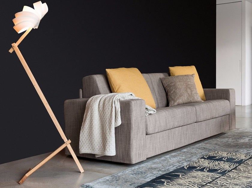 2 seater fabric sofa bed ZOOM MAXI - Dall'Agnese