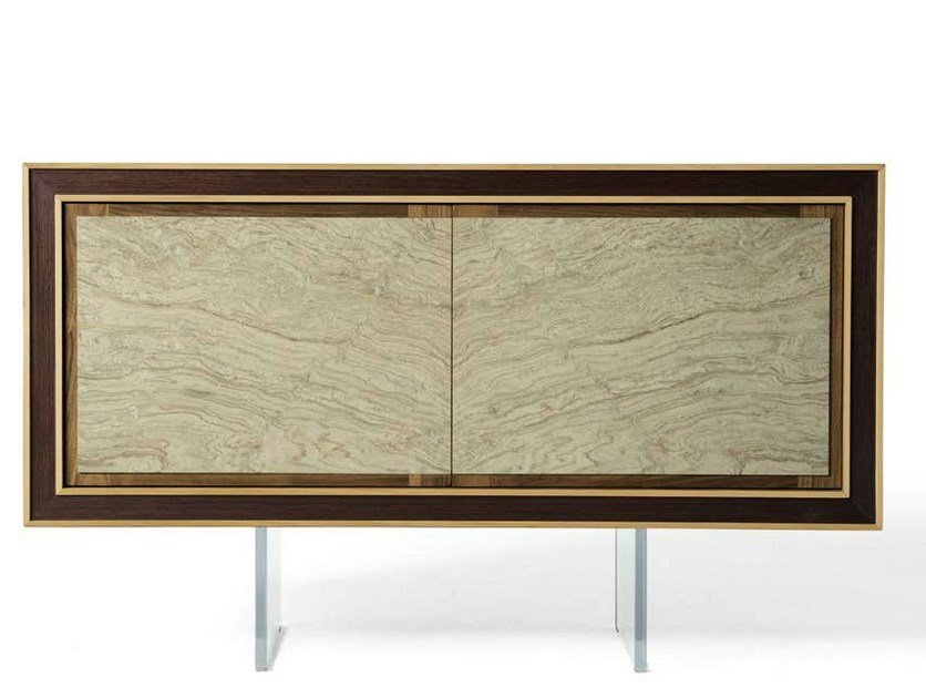 Wooden sideboard with doors A-104 | Sideboard by Dale Italia