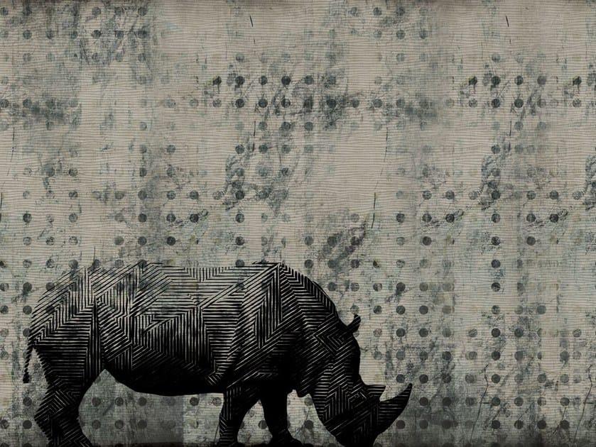 Fiberglass textile wallpaper A-20 by MOMENTI