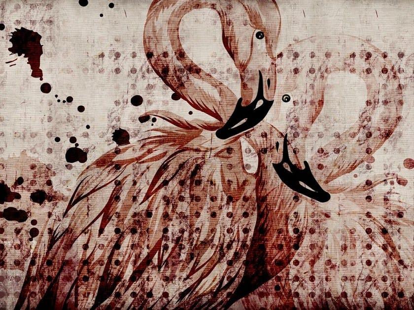 Fiberglass textile wallpaper A-21 by MOMENTI