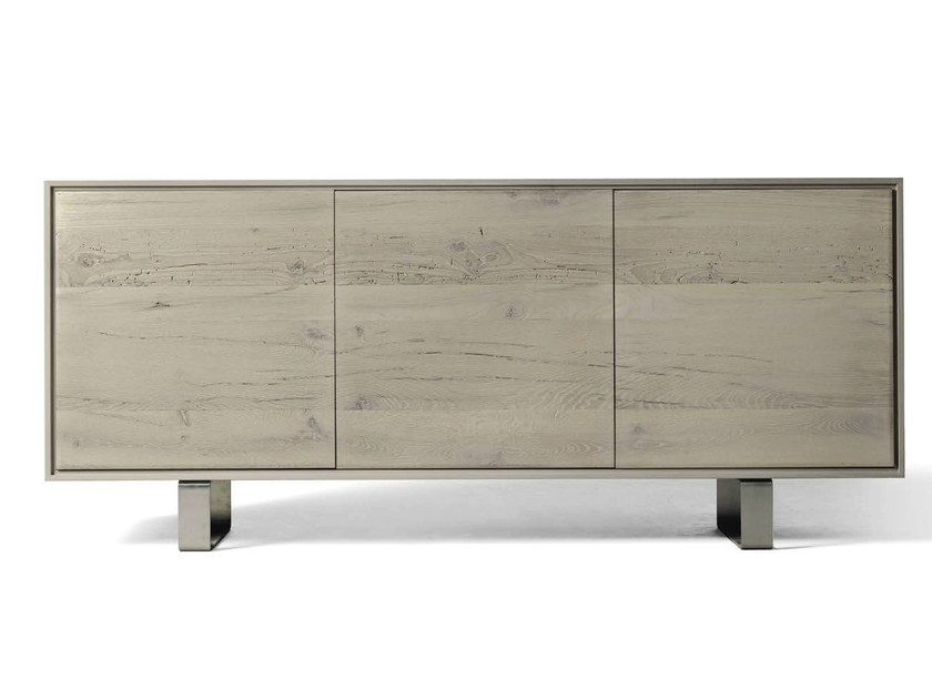 Wooden sideboard with doors A-641 | Sideboard by Dale Italia