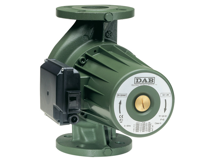 Wet rotor circulators BPH-DPH by Dab Pumps