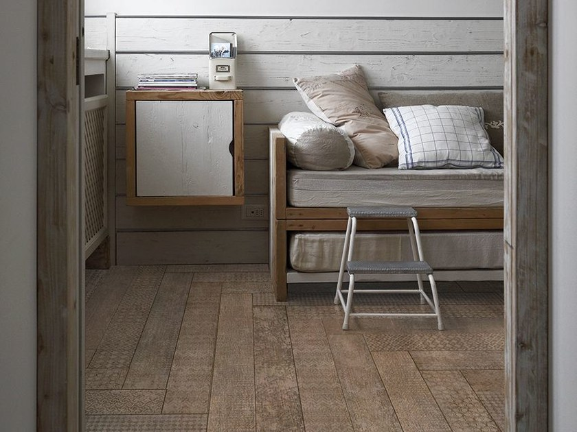 Oak parquet A-DES - Inkiostro Bianco