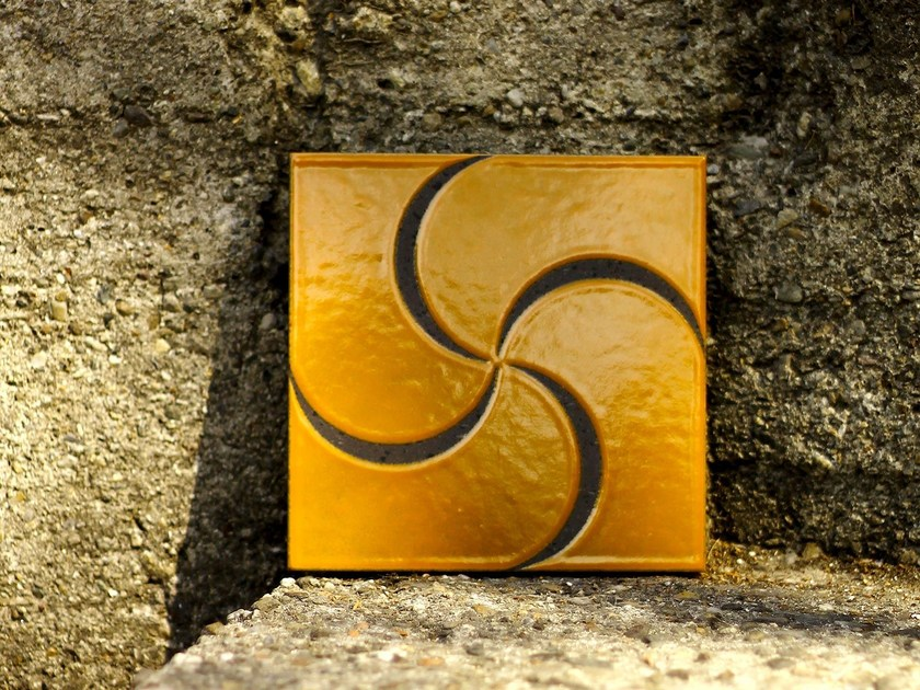 Lava stone wall tiles CALYPSO by Made a Mano