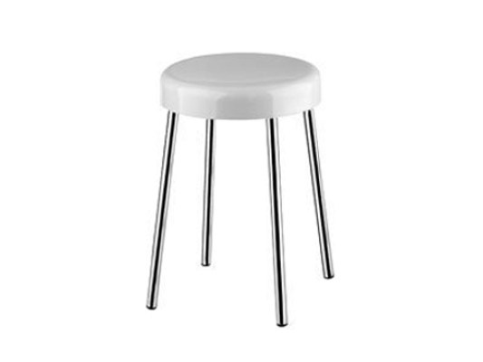 Resin bathroom stool A0375A | Bathroom stool - INDA®