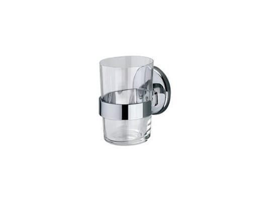 Glass Toothbrush holder A04100 | Toothbrush holder - INDA®
