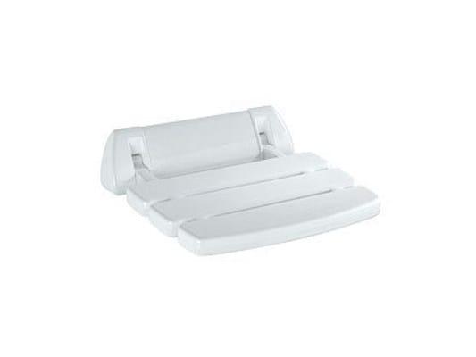 Folding polypropylene shower Seat A0436A | Shower Seat - INDA®