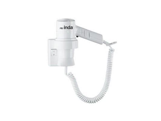 Asciugacapelli elettrico per hotel in polipropilene A04520 | Asciugacapelli elettrico per hotel - INDA®