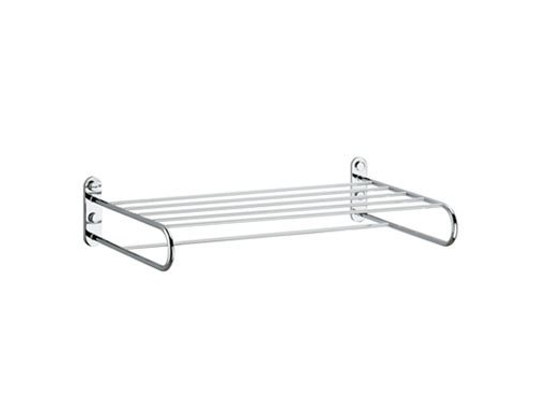 Metal bathroom wall shelf A0470F-B-T | Bathroom wall shelf by INDA®