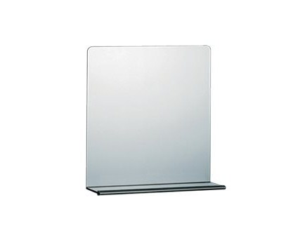 Wall-mounted bathroom mirror with cabinet A0781A-B | Mirror - INDA®