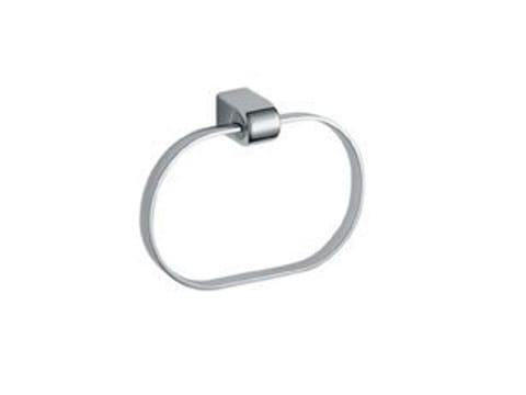 Porta asciugamani ad anello in ottone cromato EUROPE | Porta asciugamani ad anello - INDA®