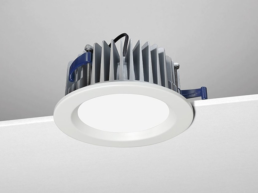 LED round recessed spotlight A4 by NOBILE ITALIA