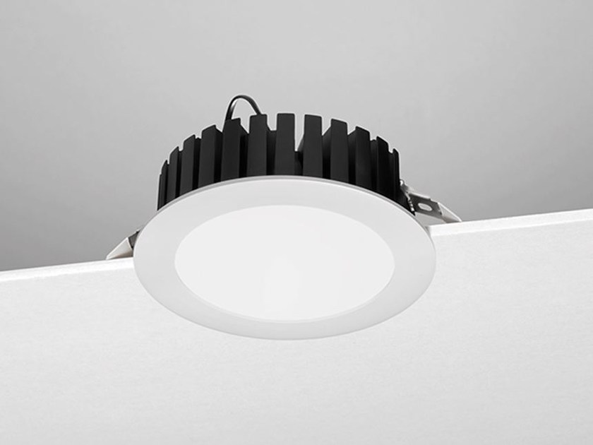 LED round recessed spotlight A42 by NOBILE ITALIA