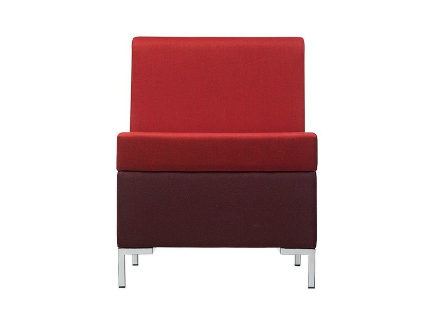 Sectional fabric armchair Abaco 750 - Metalmobil