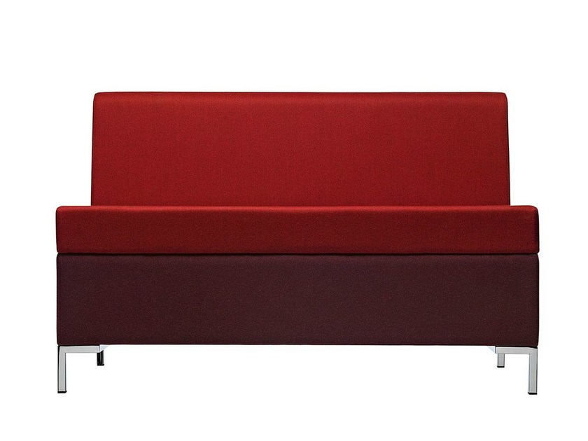 Sectional fabric sofa Abaco 751 - Metalmobil