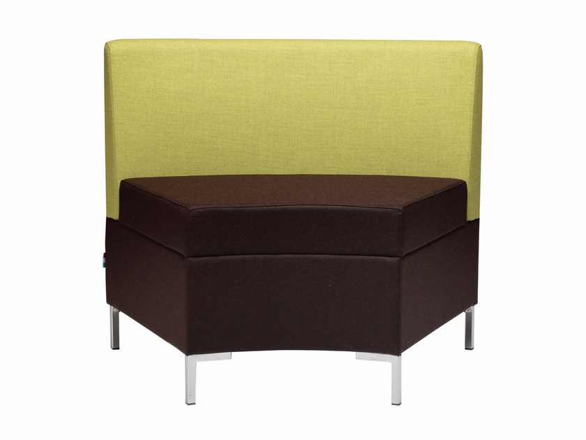 Sectional fabric armchair Abaco 759 - Metalmobil