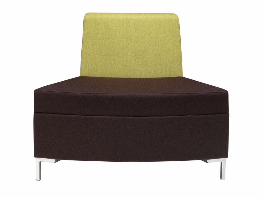 Sectional fabric armchair Abaco 760 - Metalmobil