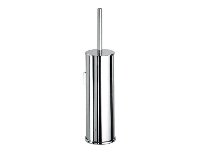 Wall-mounted metal toilet brush ABCN11B | Toilet brush - Fir Italia