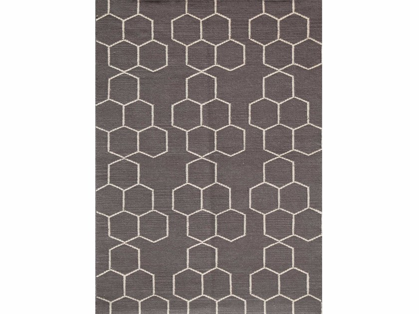 Tappeto in lana a motivi geometrici ABDEL - Jaipur Rugs