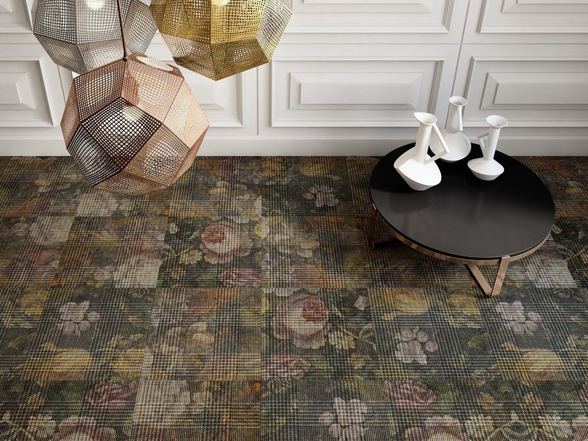 Carpet tiles with floral pattern ABERDEEN - OBJECT CARPET GmbH