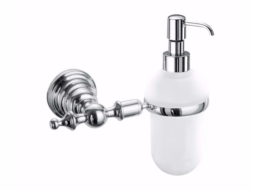 Wall-mounted metal liquid soap dispenser ABME01E | Liquid soap dispenser - Fir Italia