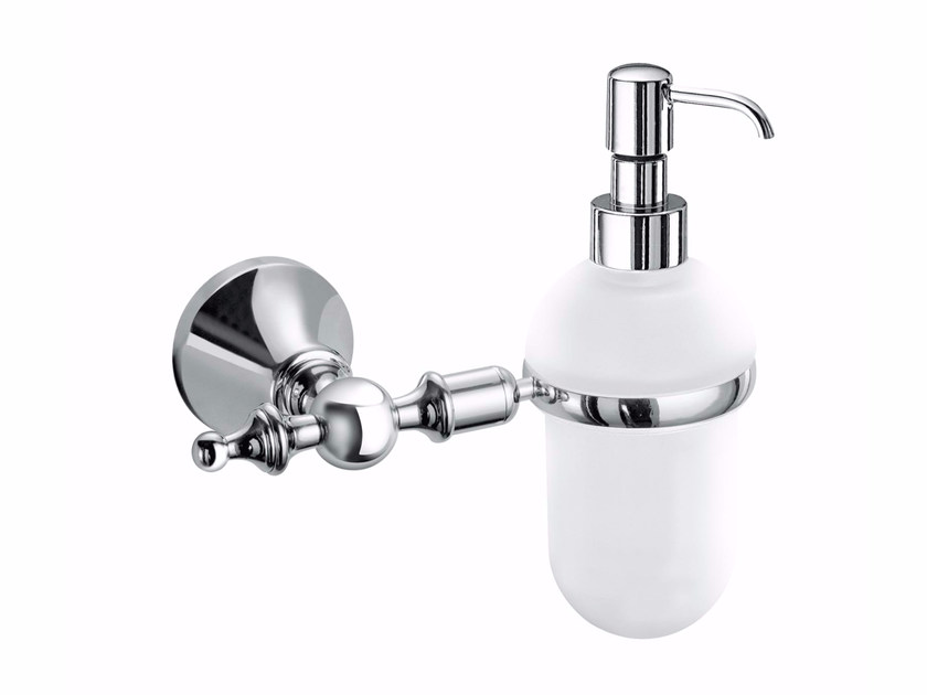 Dispenser di sapone liquido da parete in metallo ABML01E | Dispenser di sapone liquido - Fir Italia