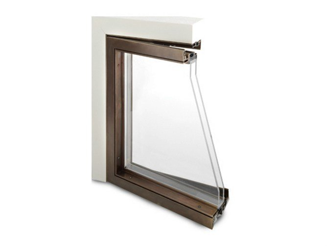 Bronze thermal break window ABX D45 - PFT HEVO