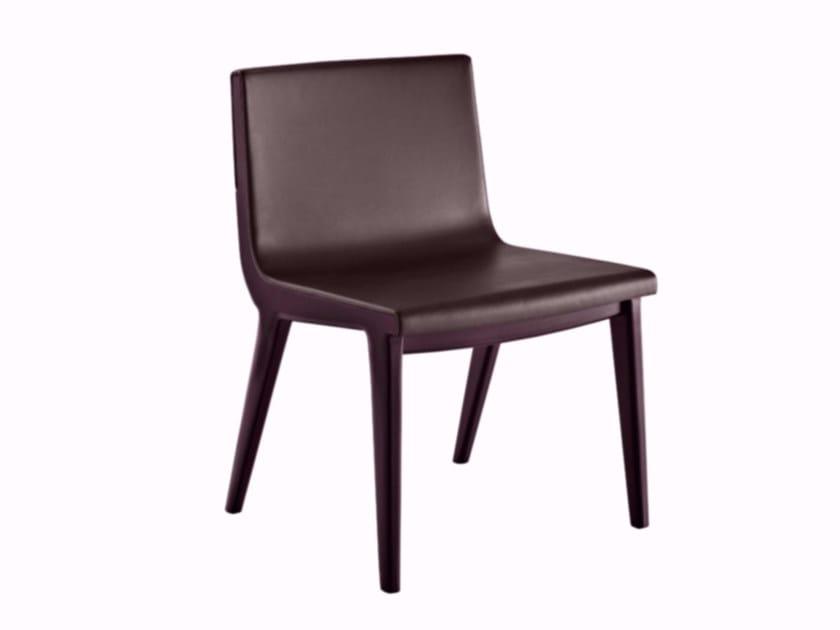 Leather chair ACANTO '14 | Chair - Maxalto, a brand of B&B Italia Spa