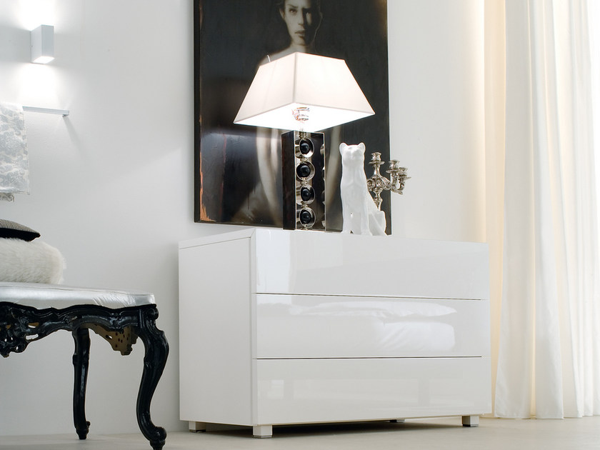 Contemporary style lacquered dresser ACCA | Dresser by Silenia