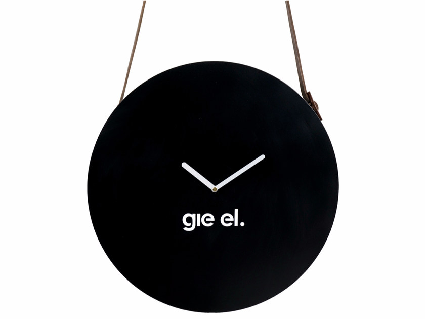 Wall-mounted steel clock ACL0030 - 0031 by Gie El Home