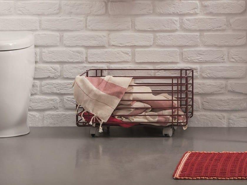 Metal laundry container ACQUA E SAPONE BATH | Laundry container - Birex