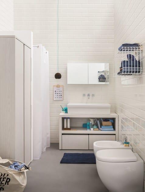 Specchio stendibiancheria acqua e sapone specchio per - Bagno e lavanderia ...