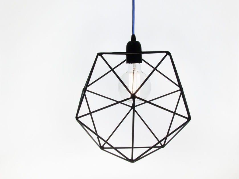 Direct light incandescent iron pendant lamp ACQUA | Iron pendant lamp - bigdesign