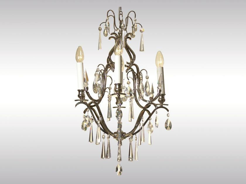 Classic style chandelier AD-KRISTALL, KLEIN - Woka Lamps Vienna