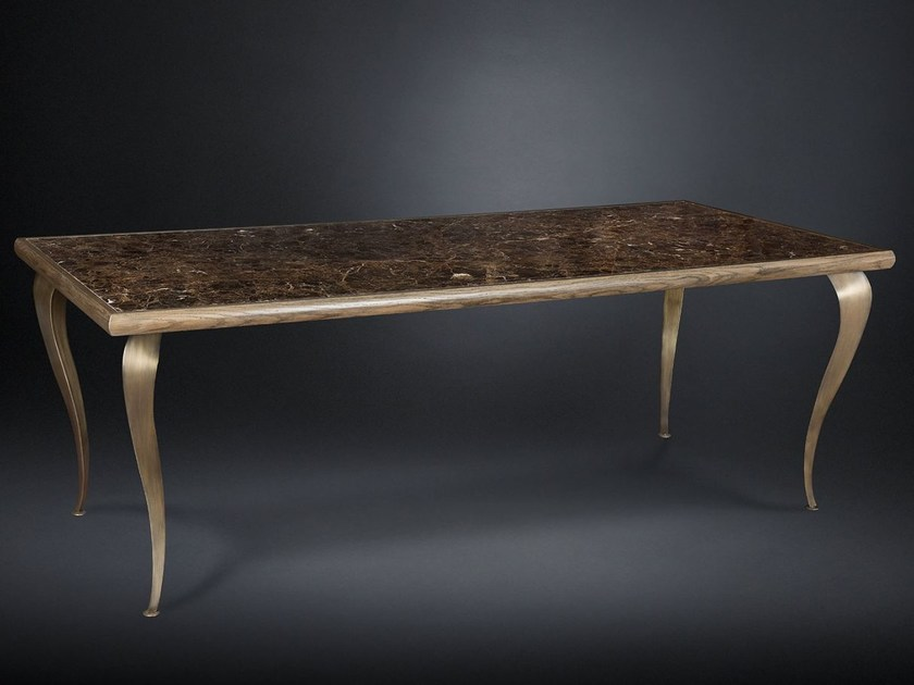 Rectangular marble dining table ADAM by VGnewtrend