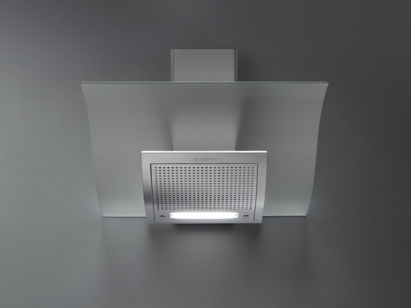 Wall-mounted stainless steel cooker hood with activated carbon filters ADARA by Falmec