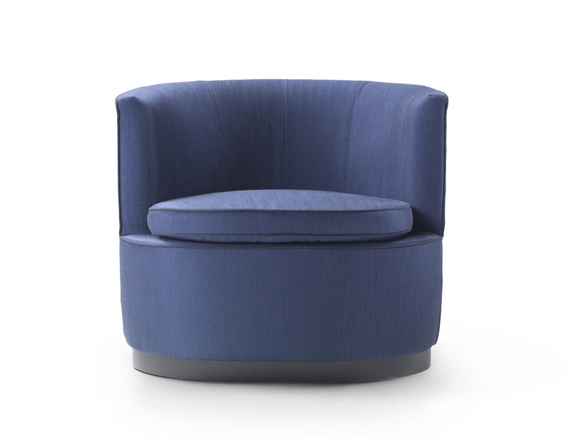 Fabric armchair with removable cover ADELE | Fabric armchair - FLEXFORM