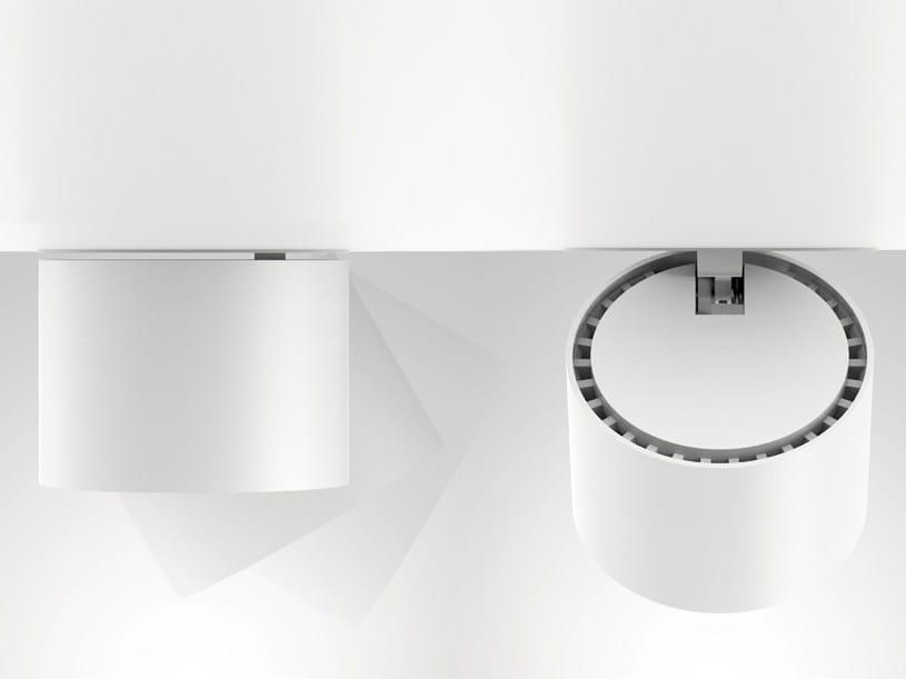 LED adjustable aluminium spotlight NODE | Adjustable spotlight by Artemide