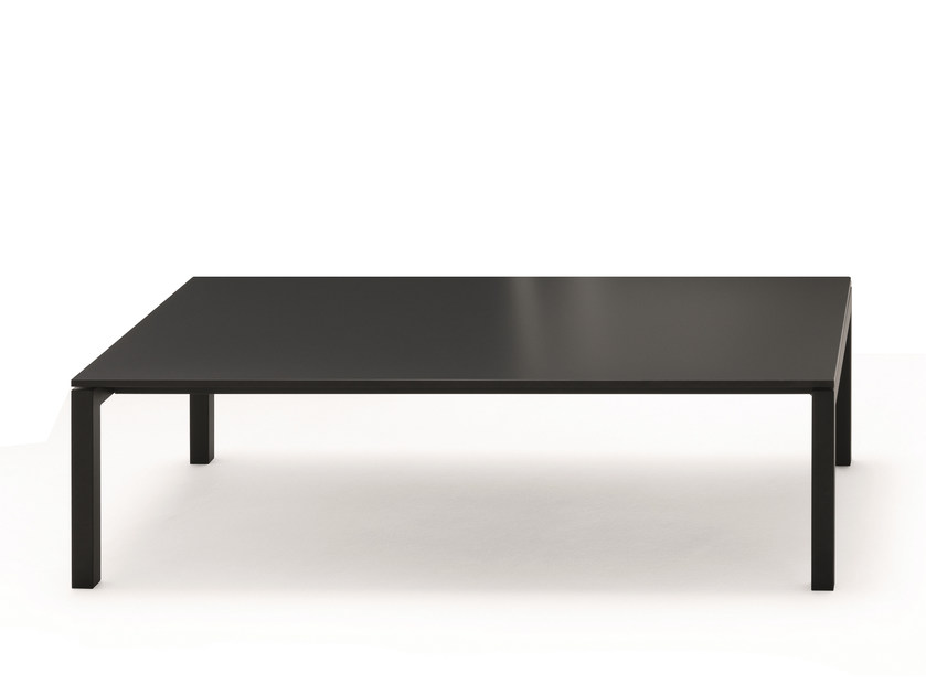 Low rectangular aluminium coffee table AER | Aluminium coffee table - Fantin