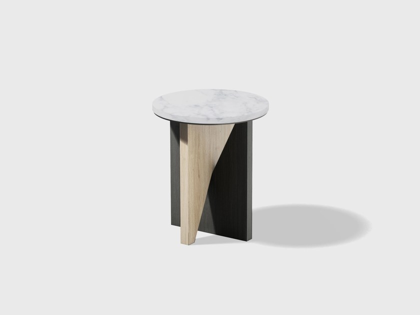 Round side table AFFORDANCES | Side table by Matter Made