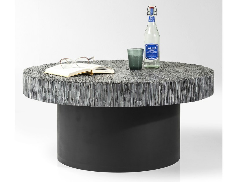 Round coffee table for living room AFRICANO - KARE-DESIGN
