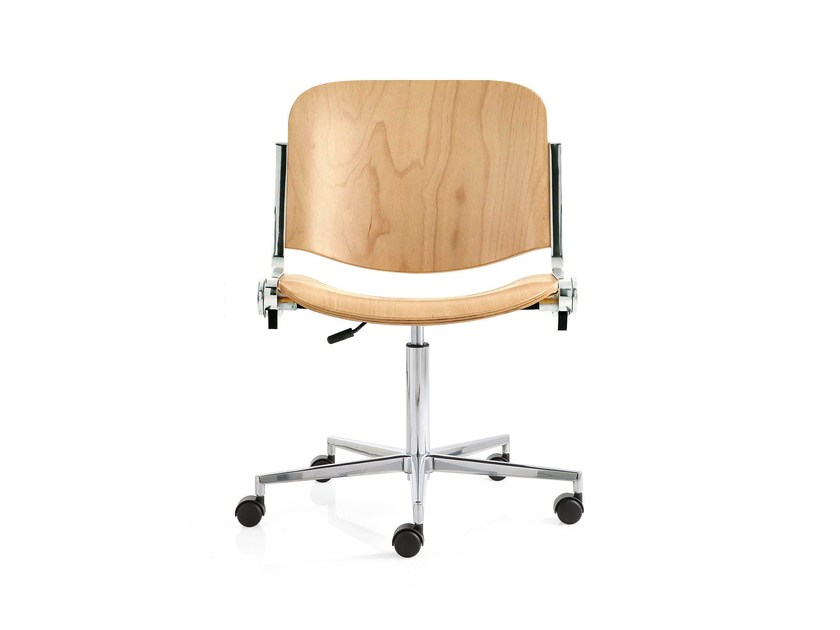 Swivel task chair with 5-Spoke base AGORÀ | Task chair with 5-Spoke base - Emmegi