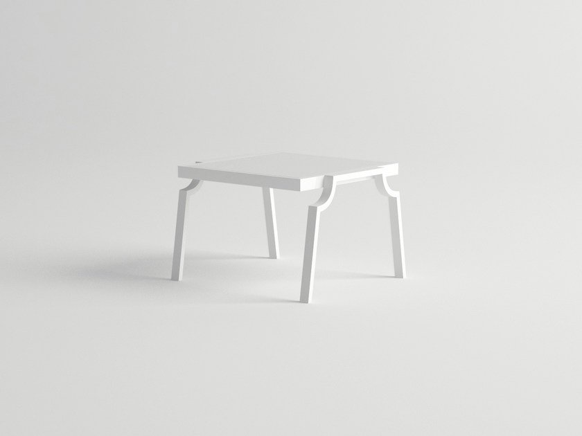 Aluminium side table AGOSTO | Side table by 10Deka