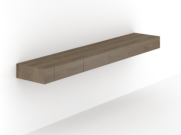 Wall shelf AIR | Wall shelf by NARBUTAS